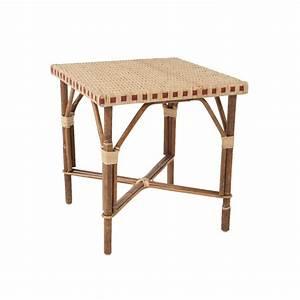 Table Basse Rotin : table basse en rotin bagatelle bout de canap en rotin kok maison ~ Teatrodelosmanantiales.com Idées de Décoration