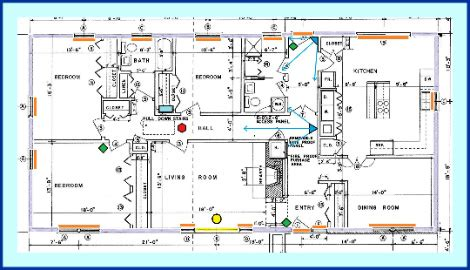 Security Wiring Schematic by Compare Home Security Systems The Smart Way