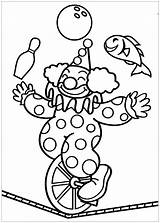 Circus Coloring Pages Simple Printable Children Sheet Onlinecoloringpages sketch template