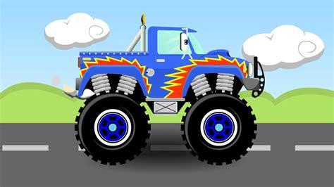monster truck videos for kids online truck cartoon pictures adultcartoon co