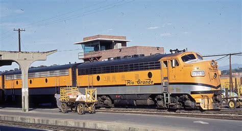 D&RGW EMD F7 #5574 locomotive picking up the Zepher | Flickr