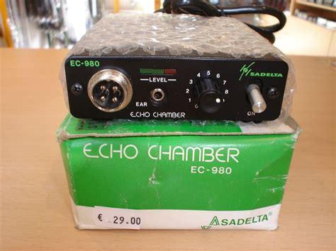 chambre d echo vendu chambre d 39 echo sadelta ec 980 vendu radio media