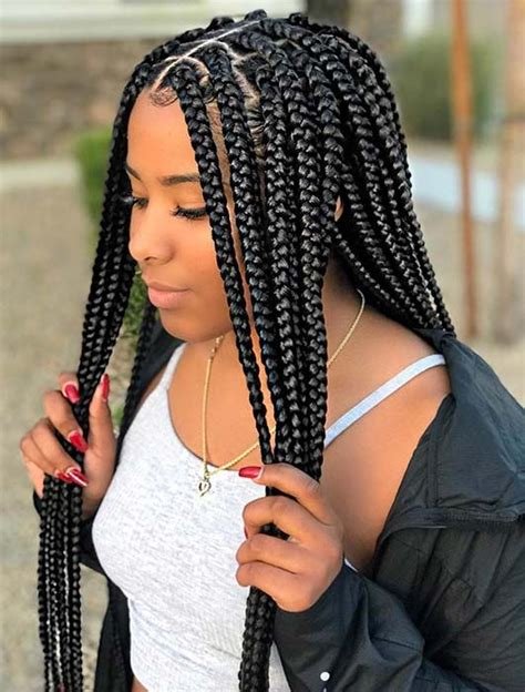 Black Hairstyles In Braids by 25 Crochet Box Braids Hairstyles For Black