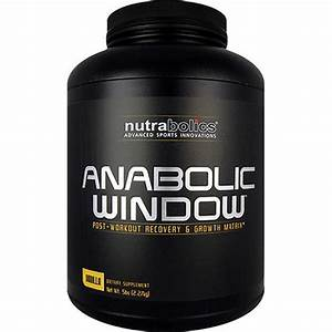 nutrabolics anabolic window