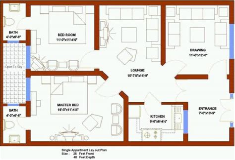 Home Design 6 Marla : New Map House Pakistan Marla Release Reviews Models