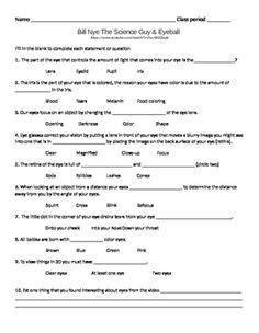 Bill Nye The Science Guy Worksheet Answers Motion Homeshealthinfo
