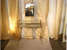 Hollywood Regency Gold Vanity Table SOLD The Savoy Flea
