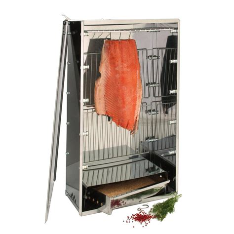 Fumoir Cuisine - fumoir à viande et poisson inox polyvalent tom press tom