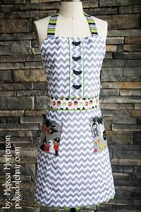 Name Style Designs Sewing Pattern For An Apron For Halloween