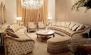 High, End, And, Elegant, Plush, Living, Room, Furniture, Set
