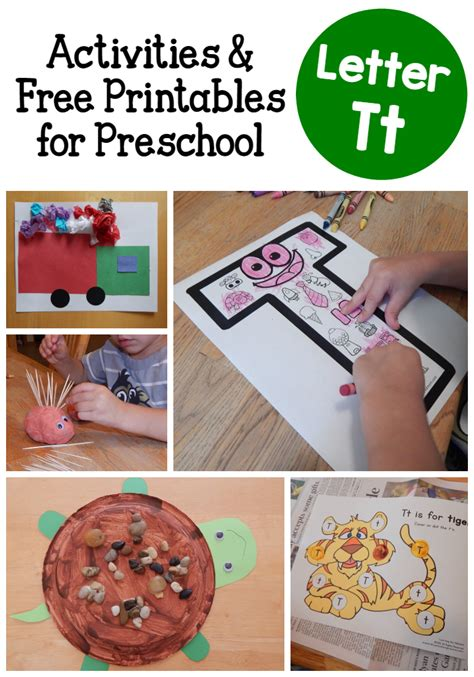 letter t activities for preschool the measured 782 | letter T activities for preschoolers