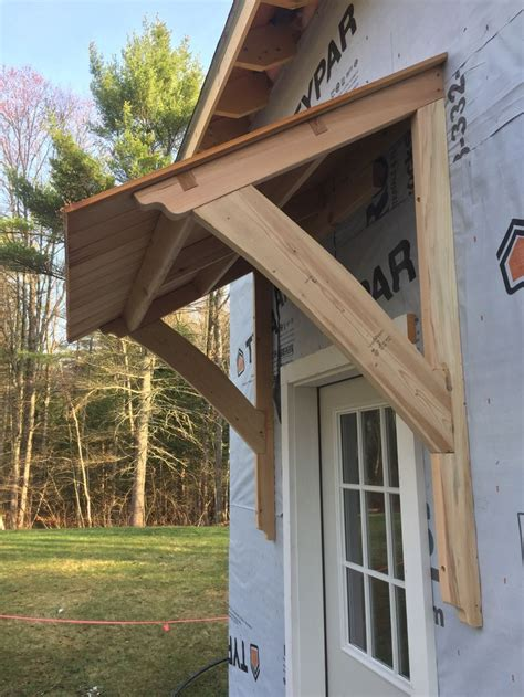 awning barn mortiseandtenon cedar porch roof door awnings window awnings