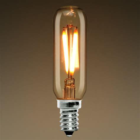 led tubular bulb vintage spiral filament kt252mscl22k