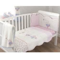 rebecca rabbit 4 piece cot cotbed bedding set toys