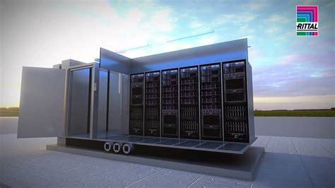 rittal data center container youtube