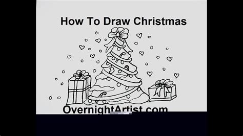 how to draw christmas balls how to draw tree with ornaments easy easy way