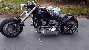 Harley Davidson Softail 1340 Showbike Custom Skull