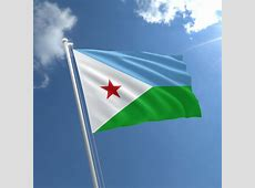 Small Djibouti Flag 3 x 2 ft Djibouti Flag The Flag Shop