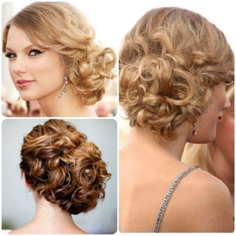 ideas  loose curly updo hairstyles