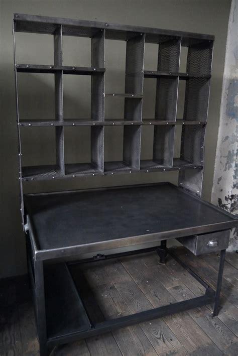 bureau poste 11 meuble metier grand bureau tri postal industriel atelier loft