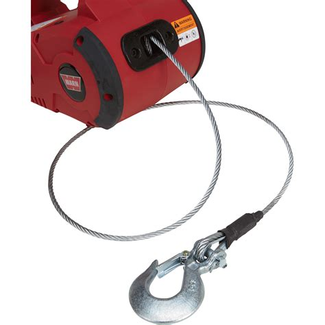 warn pullzall 120 volt handheld electric pulling tool winch 1 000 lb capacity 885000