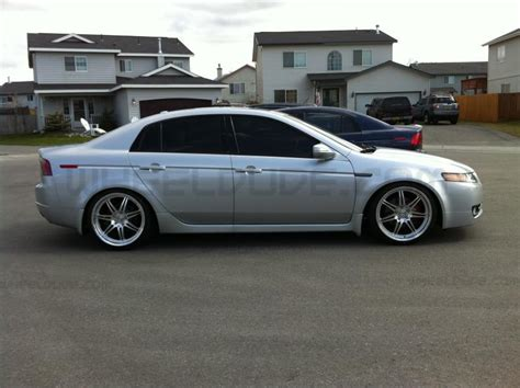 linea corse dyna wheels on 2007 acura tl wheeldude com