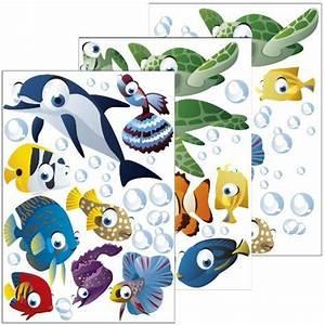 Transportbox Für Fische : wandsticker unterwasserwelt fische ozean wandtattoo ~ Michelbontemps.com Haus und Dekorationen
