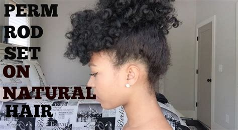 ways to style permed hair perm rod set on hair 4 easy ways to style 2147