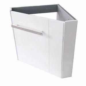 Lave Main Angle : meuble lave mains angle levyne blanc castorama ~ Melissatoandfro.com Idées de Décoration