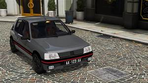 Peugeot 205 Gti  Addon  Replace
