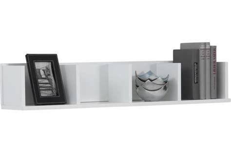 livre de cuisine facile pour tous les jours étagère murale horizontale 4 compartiments blanc kube etagère pas cher
