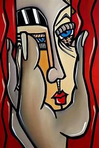 Paranoid Painting by Tom Fedro - Fidostudio