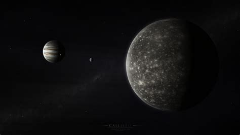 Jupiter's moon Callisto wallpapers and images - wallpapers ...