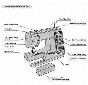 Kenmore Model 385 1884180 Sewing Machine Instruction Manual
