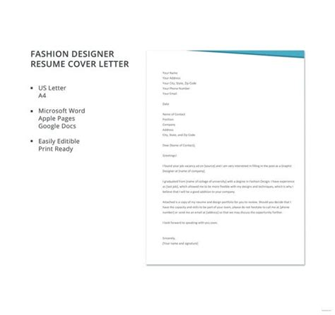 professional cover letter templates  sample