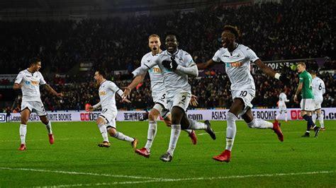 Bony rocket ends Swansea's long wait for victory - Eurosport