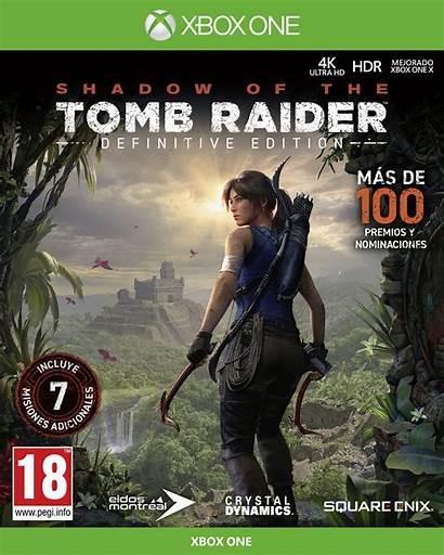 Raider Tomb Shadow Definitive Edition Xbox Xone