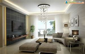 Beautiful Residential Apartment Drawing Room