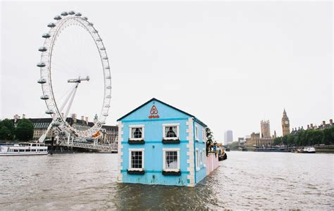 House Boat Rent London by Airbnb S Rental Houseboat Floats Down London S River