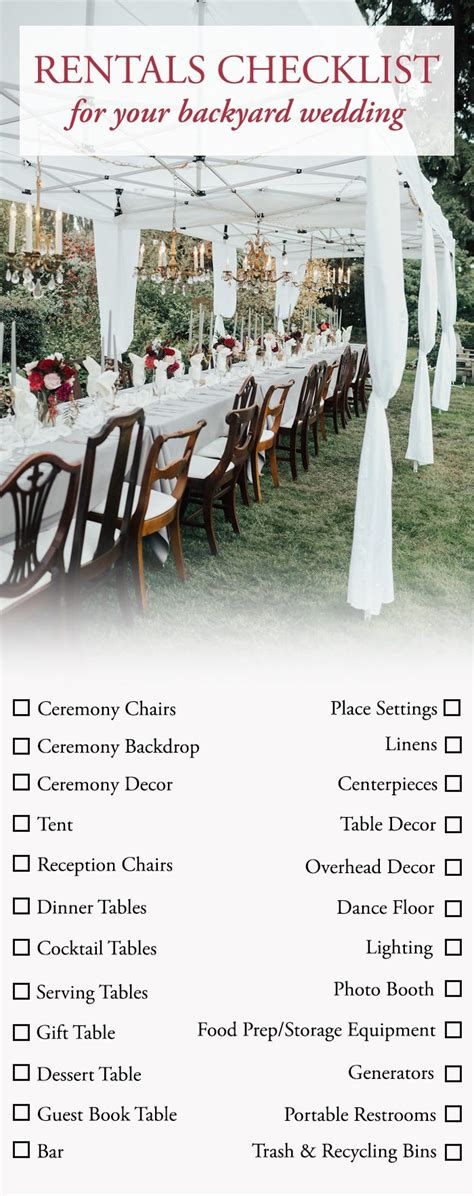 Planning A Backyard Wedding by The Ultimate Guide To Planning A Backyard Wedding
