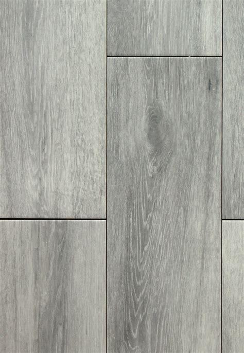 Niove Silver Faux Wood 7 x 20 Ceramic Floor Tile