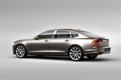 Volvo S90 Photo by 2018 Volvo S90 T8 Engine Phev With 400hp Reaches