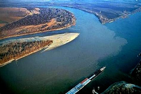 Tow Boat Sinks On Ohio River by Across The Wide Missouri On The Lewis And Clark Trail