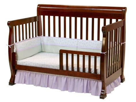 baby crib davinci kalani 4 in 1 convertible baby crib in cherry w