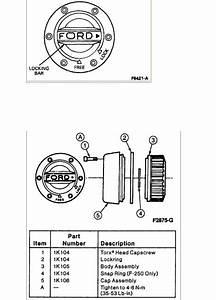 1995 Ford F150 4x4 Auto Locking Hubs