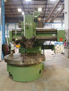 Webster  U0026 Bennett Ev 72 Vertical Turret Lathe