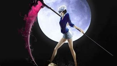Scythe Anime Moon Night 1080p Resolution Wallpapers