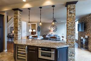 Rustic Kitchen with Kitchen island, Wildon home oversized