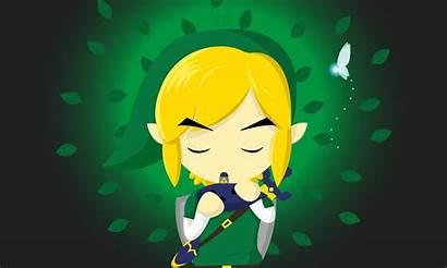 Ocarina Zelda Legend Link Saria Wallpapers Song