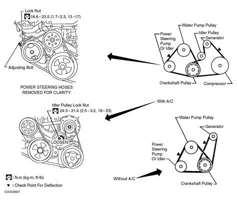 2004 nissan sentra serpentine belt routing and timing belt
